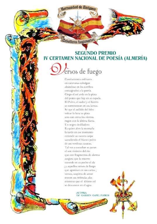 Pergamino Premio Poesia
